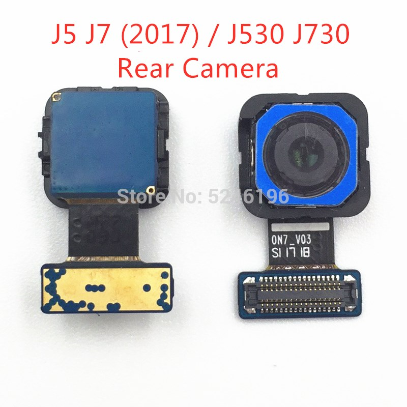 For Samsung Galaxy J5 J7 (2017) / J530 J730 Back Big Main Rear Camera Front Camera Module Flex Cable Replacement Parts