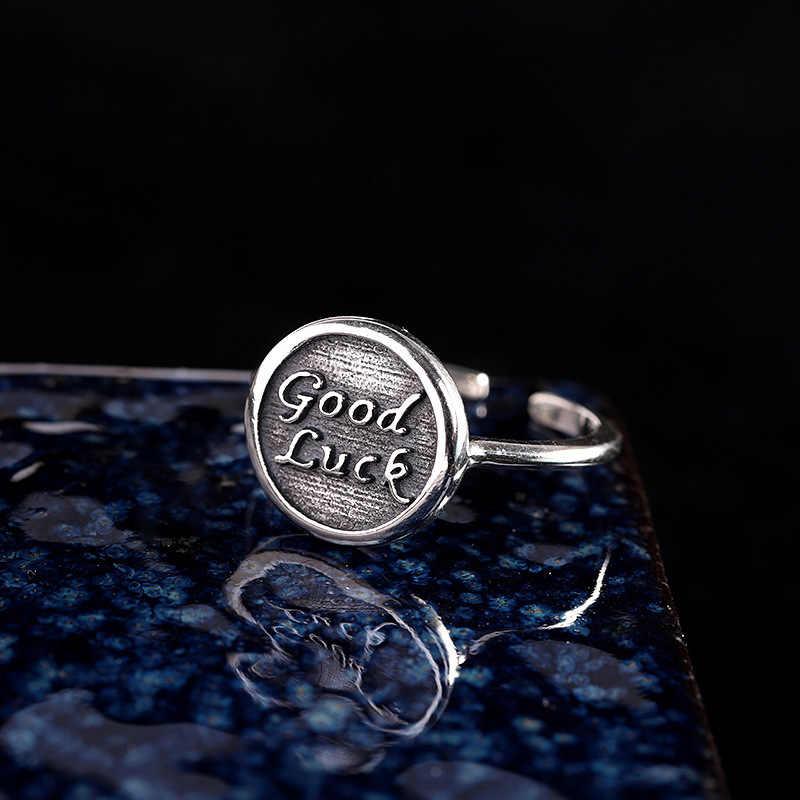 Распродажа ретро браслет из стерлингового серебра s925 чистое серебро Ювелирное