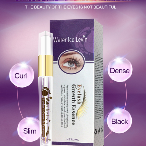 Eyelash Enhancer Essence Eyelash Growth Serum Treatment Natural Herbal Moisturizing Eye Lashes Mascara Lengthening Longer TSLM2 Karachi