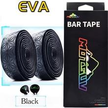 Road Bike Bar Tape Cork EVA PU Bike Handlebar Tape Vibration Damping Anti-Vibration Star Fade Race Bar Tape Wrap +2 Bar Plug фартук bar star бордовый