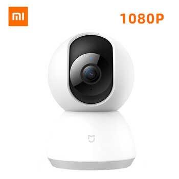 Xiaomi Mijia Mi 1080P IP Cámara inteligente 360 ángulo inalámbrico WiFi visión nocturna Video cámara Webcam videocámara proteger la seguridad del hogar