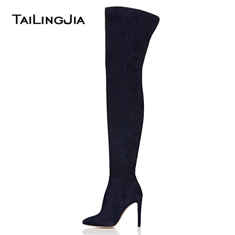 Women Thigh High Boots 2019 High Heel