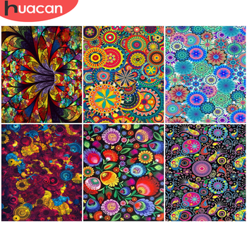 HUACAN DIY Pictures By Number Flowers Kits Painting By Numbers Drawing On Canvas Hand Painted Paintings Home Decoration