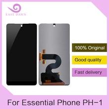 필수 전화 PH 1 ph1 lcd 디스플레이 + 터치 스크린 디지타이저 어셈블리 교체 용 100% 오리지널 5.7 인치