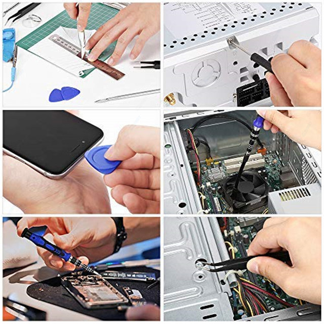 Professional Cell Phones Repair Tool Sets 80 in 1 Precision Screwdriver Kit For iPhone iPad Samsung Laptop Smartphones Repair 5