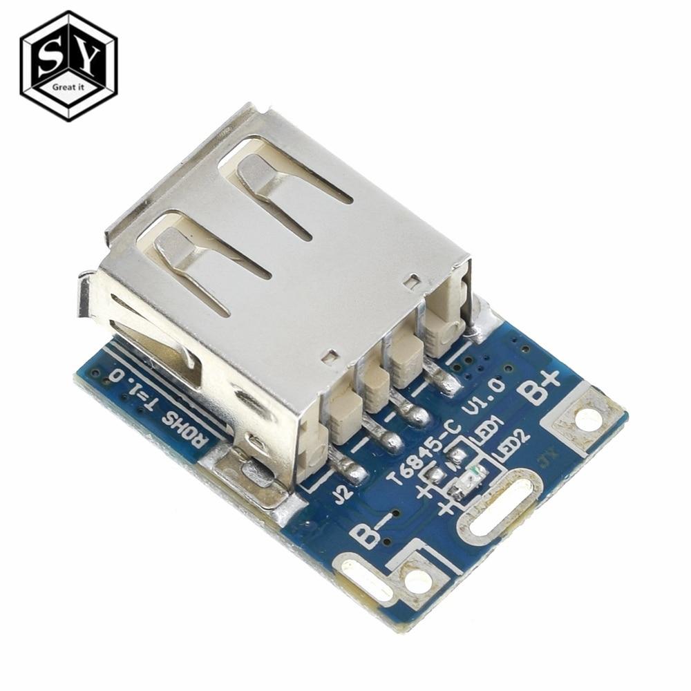 5 шт., 5 В, Повышающий Модуль питания, литиевый LiPo аккумулятор, плата для зарядки, светодиодный дисплей, USB для самостоятельного зарядного устройства, 134N3P программа Интегральные схемы      АлиЭкспресс