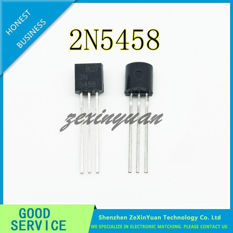 10PCS/LOT 2N5458 TRANSISTOR 2N5458 5458 TO-92 New Original