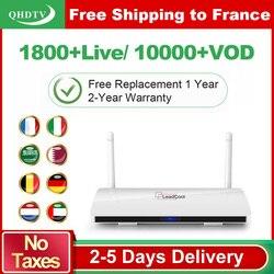 Leadcool IPTV فرنسا العربية 1 سنة QHDTV IPTV الاشتراك أندرويد 8.1 Rk3229 IPTV ألمانيا بلجيكا هولندا فرنسا IP TV