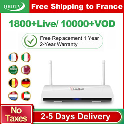 Leadcool IPTV France Arabic 1 Year QHDTV IPTV Subscription Android 8.1 Rk3229 IPTV Germany Belgium Netherlands France IP TV