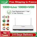 Leadcool IPTV Frankrijk Arabisch 1 Jaar QHDTV IPTV Abonnement Android 8.1 Rk3229 IPTV Duitsland België Nederland Frankrijk IP TV