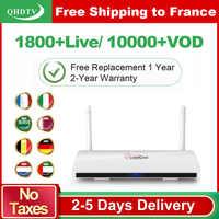 Leadcool IPTV France Arabic 1 Year QHDTV IPTV Subscription Android 8.1 Rk3229 IPTV Germany Belgium Netherlands France IP TV