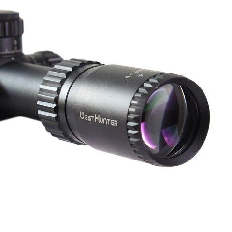 tactical caca scope westhunter 4 16x50sfir iluminacao vidro