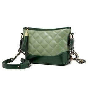 Image 2 - Kadınlar için hakiki deri çanta 2019 lüks markalar tasarımcı çantaları zincirleri Crossbody çanta bayanlar debriyaj gövdesi omuzdan askili çanta