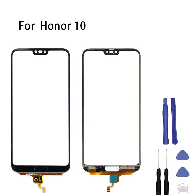 Huawei Honor 10 Touch Screen Panel Front Glass Outer Sensor Digitizer For Huawei Honor 10 Touch Panel Replacement