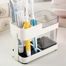 Держатель для зубной щетки подставка электрической и пасты переносной