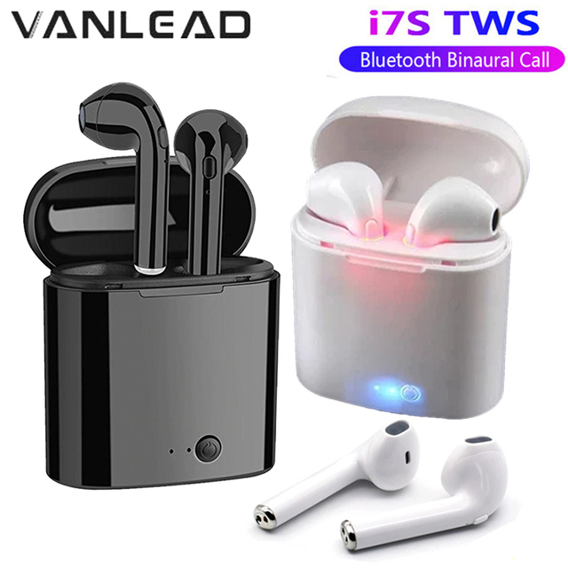 Hot Sale I7s TWS Bluetooth Earphone Stereo Earbud Wireless Bluetooth Earphones for Men Women In-ear Headsets For All Smart Phone