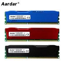Aardar DDR3 4GB 8GB RAM 1600MHz سطح المكتب ذاكرة مع الحرارة بالوعة عالية الأداء ميموريال Ram ddr 3 4gb 8gb ذاكرة الوصول العشوائي