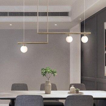 Nordic Light Fixture For Bedroom Modern Golden Pendant Lamp Dinning Room Hanging Light Home Indoor