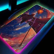 Konosuba Мышь геймер Мини ПК игровой стол pad rgb подставка