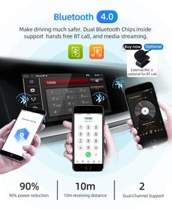 Image 5 - بوسيون 1 Din 9 PX6 Universal أندرويد 10.0 4GB + 64GB IPS راديو السيارة ستيريو لتحديد المواقع والملاحة واي فاي 1024*600 مع IPS DSP كاميرا مجانية
