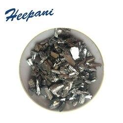 Бесплатная доставка tellurium гранулы/слиток Te 99.999% чистый теллуриум материал блоки для катализатора
