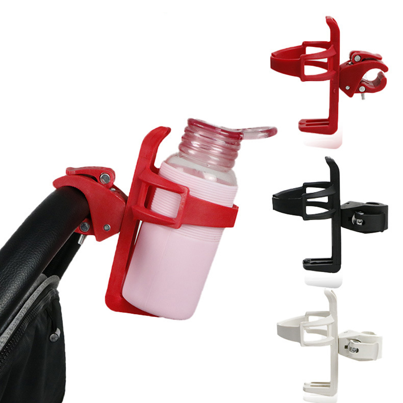 Baby Stroller Bottle Holder Accessories Baby Stroller Bottles Rack Bicycle Cart Bike Bottle Cup Holder Trolley Outdoor