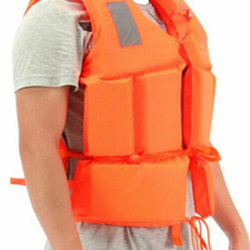 Adults Children Life Vest Life Jacket With Whistle On For Surfing Drifting Kayak Water-skiing Sports Safety Lifevest Adjustable