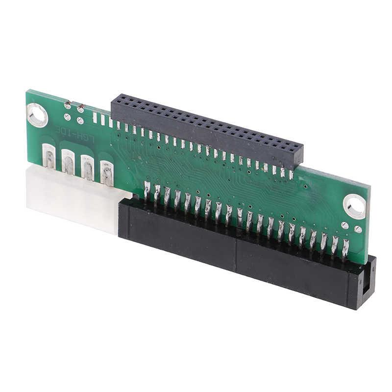 1pc 3.5 ide macho para 2.5 ide fêmea 44 pinos para 40 pinos sata conversor adaptador cartão para computador portátil desktop