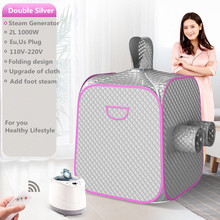 Steam Sauna Portable Sauna Room Bath Steam Generator Portable Sauna Lose Weight Detox Machine With Foot Hole  PrivateHome SPA 2 4g wireless gaming mouse 1600 dpi usb receiver optical computer mouse for macbook laptop pc notebook desktop ultra slim mice