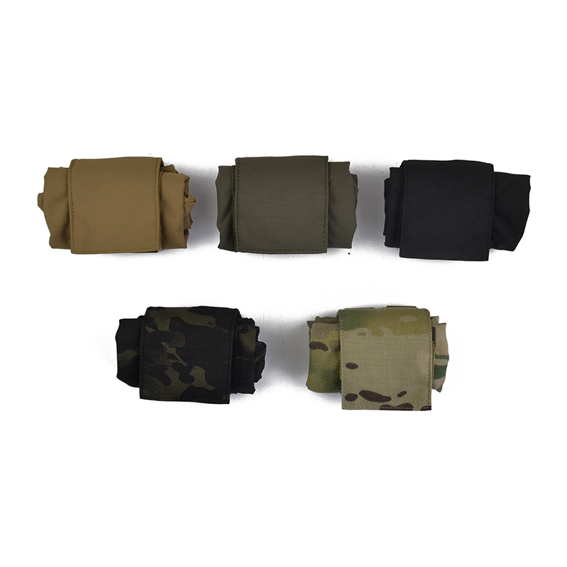 Delustered First FS Spear First MINI Foldable Magazine Drop Dump Pouch CORDURA Hunting Camping Climb Tactical Hike TW-M065