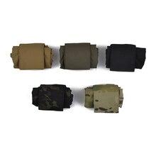 MINI caricatore pieghevole tattico tattico di twinfalcontro di goccia del sacchetto di scarico CORDURA caccia campeggio arrampicata escursione tattica TW M065