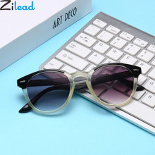 Zilead óculos unissex de leitura, gradiente redondo para presbiopia, óculos de sol para hipermetropia + 1.0 + 1.5 + 2.0 + + 2.5 + 3.0 + 3.5