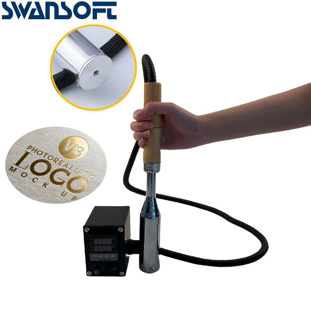 SWANSOFT Heißer Stanzen Maschine Temperatur Löten Eisen Elektrische Einstellbare Handheld Präge