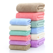 Towel Set Coral Velvet Super Soft Bath Towel+Hand for Bathroom Spa Swimming Pool Beach Gift Baby D30