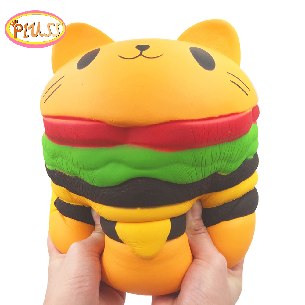 Giant Fruit Squishy Slow Rising Watermelon Strawberry Peach Unicorn Scented Bread Squeeze Toys Simulation Exquisite Kids Gifts