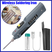 8W 4.5V Electronic Welding Battery Powered Soldering Iron To
