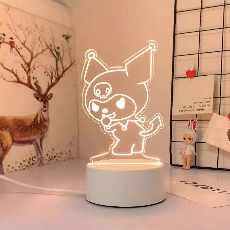 Kawaii Sanrio 3D Night Light/Lamp 6
