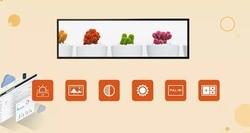 24 zoll ultra breite lcd werbung display/bar lcd display/gestreckt lcd display