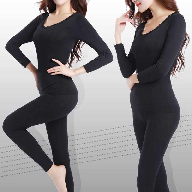 Новые кальсоны для женщин подходят Размер m-xxl зимнее термобелье толстое модальное женское термобелье