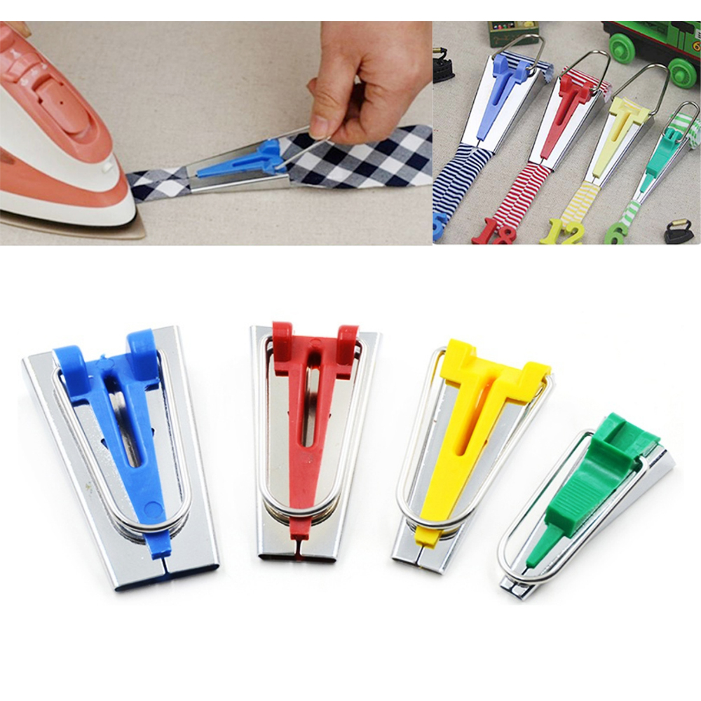 6/12/18/25mm Splicing Cloth Bias Binding Tape Maker Fabric Quilting Sewing Bias Tape Maker Binding Tool Sewing Accessories-3