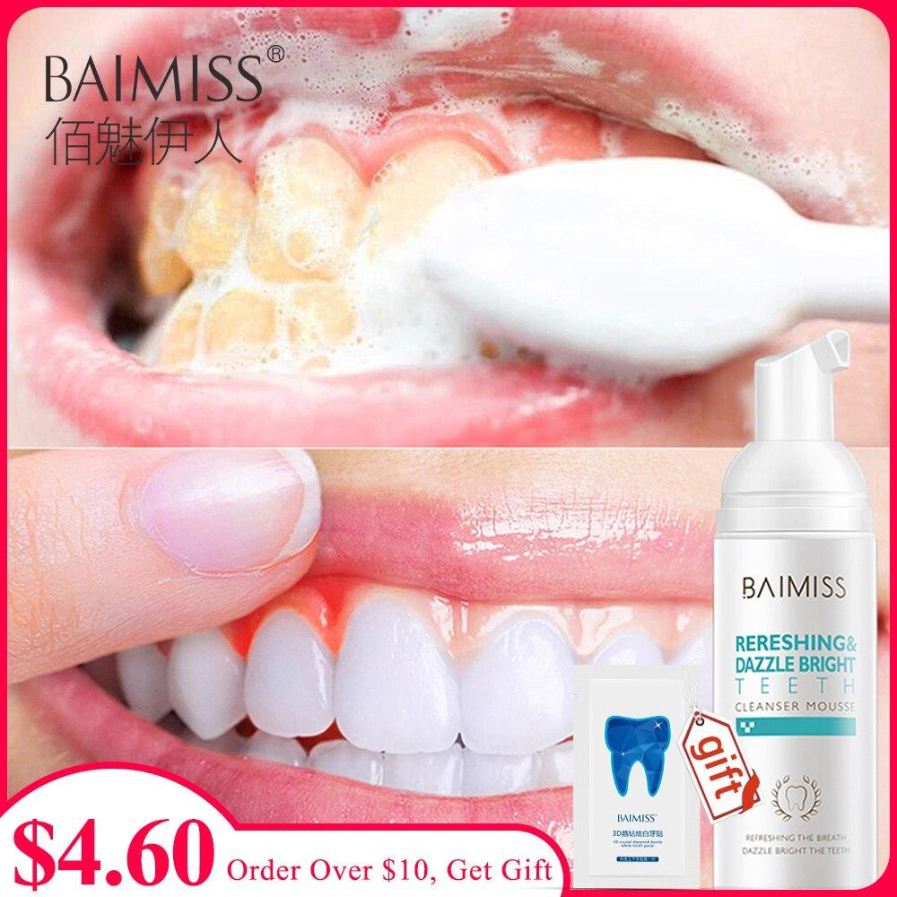 Limpiador antimanchas para dientes blancos