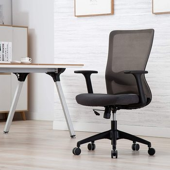 Ergonomic Office Chair Executive Mesh Chair Computer Desk Task Chair Passed BIFMA/SGS Certification executive office chair in velvet microfiber with nylon casters office furniture computer desk task ergonomic boss chair for home