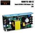 TIPTOP YC-100-12 100 Вт 12 В 24 В выход 54x1 Вт RGB Led Par Light Источник питания 100 Вт для домашней комнаты танцевальные вечеринки бар караоке Xas