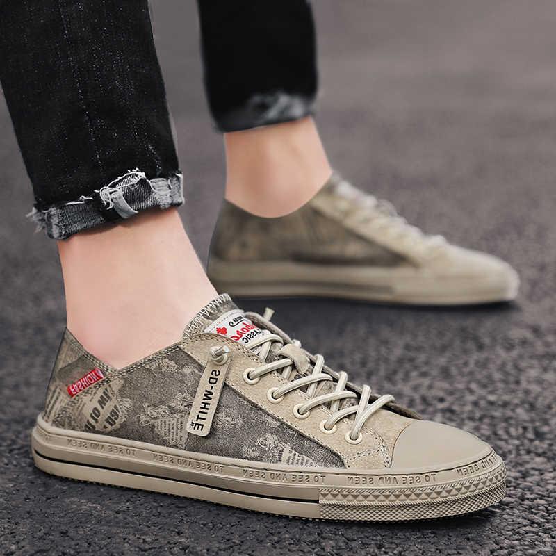 Casual Shoes Men Fashion Canvas Shoes