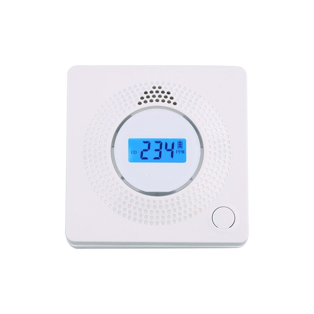 Carbon Monoxide Detector EN50291 Battery Replaceable Co Detector Alarm
