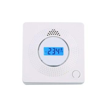 цена на Carbon Monoxide Detector EN50291 battery replaceable co detector alarm