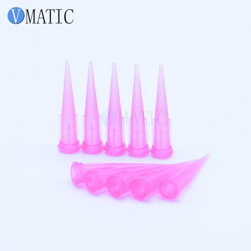 Free Shipping Non-Sterilized 100Pcs 20G Tt Plastic Glue Dispensing Needle Nozzle Tip