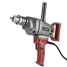 Electric Electric Drill Industrial Grade Aircraft Drill Mixer Lmpact Drill Mixer Stir Drilling Home improvement Building Tool a drill mixer zubr zmr 1200e 1