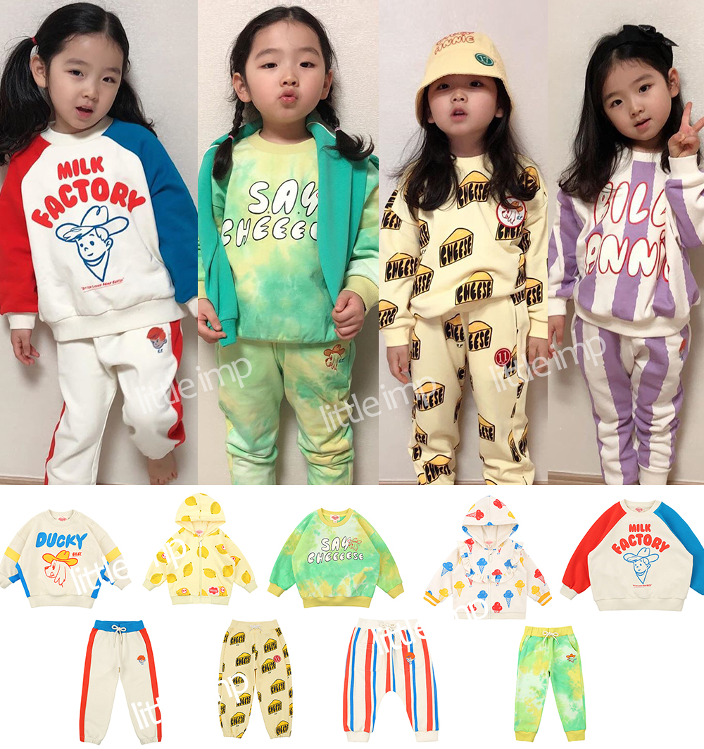Boys Clothes 2020 Korea Bebe Style Spring Baby Girls Clothes Children's Sets Fashion Kids Sweatshirt For Boys Girls