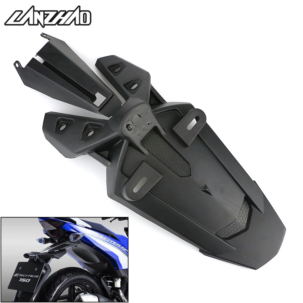 Motorcycle Rear Fender Mudguard Wheel Tire Splash Cover Guard Black For Yamaha Y15ZR EXCITER SNIPER LC 150